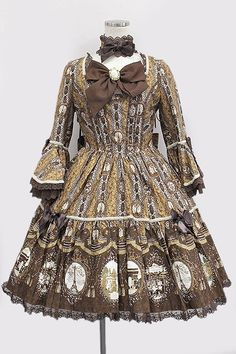 Angelic Pretty / cameo window dress