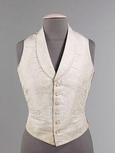 Gentleman's Evening Waistcoat, 1850-55