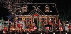 Awesome Christmas Lights On House | Awesome Best Outdoor Christmas Lights : Appealing Best Over The Top ...