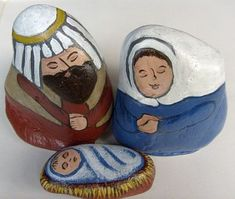 Home - Unique Nativity Sets | Nativity Scene Figures | Painted on Rocks and Stones