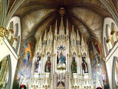 Sweetest Heart of Mary, Detroit - Once the largest Polish Roman Catholic Church in the US | Built 1893 | Gothic Revival