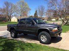 "2004 Dodge Dakota with a 3"" Supreme Suspension lift kit and 285/75R16 Goodyear Wrangler DuraTracs"