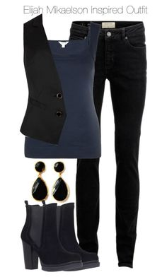 """The Originals - Elijah Mikaelson Inspired Outfit"" by staystronng ❤ liked on Polyvore"