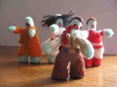 Knitted Zombies: Crafts Get Creepy