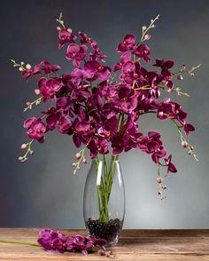 Shop Exotic Silk Orchid Arrangements & Plants at Silkflowers.com