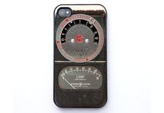 20+ Beautiful Camera-Themed iPhone Cases  http://mashable.com/2012/07/07/iphone-camera-cases/#73975Vintage-Light-Meter