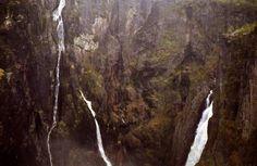 Wasserfälle aus den Felsen, Foto: S. Kretschmer