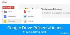 Heute sehen wir uns die Erstellung von Präsentationen und die Durchführung einer #Bildrecherche, in #GoogleDrive im Detail an. #manugoo #Produktdesignwiki  http://manugoo.de/produktdesign-wiki/research/google-drive-praesentationen-manugoo-produktdesignwiki/