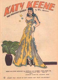 Wilbur #23 Photocopy Comic Book, MLJ Archie Publications, Katy Keene