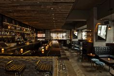 "Lily- celebrated bar room in Central Hong Kong- recalls ""speakeasy"" style of New York Prohibition era"