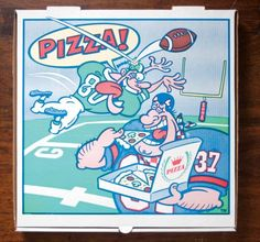 The art of the pizza box - Telegraph