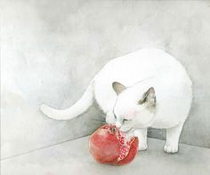 wonderful cat paintings !