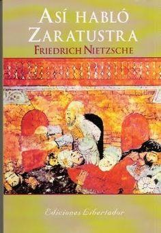 """Así hablo Zaratustra"", F. Nietzsche"