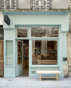 With commissions ranging from Saint Laurent to Aesop (like the rue Tiquettone store, pictured), Parisian design studio Ciguë has established itself as a go-to for fresh, stylish interiors and architecture. Vogue Living writer Marie Le Fort caught up with Aesop Store, Café Bar, Paris Shopping, Paris Store, Vogue Living, Brick And Mortar, Shop Around, Shop Fronts, Vintage Decor