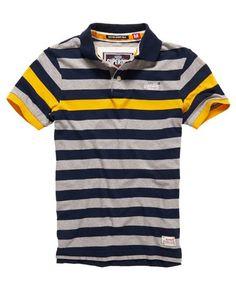 Superdry Boston Stripe Polo