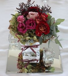 Hawkes Bay florist and art photographer Kerin Greville creating floral gorgeousness and magic for wild and whimsical weddings and other special occasions. Everything Is Possible, Table Flowers, Flower Wall, Funeral, Beautiful Flowers, Wedding Flowers, Glass Vase, Table Decorations, Create