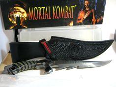 Mortal Kombat Raptor Knife Gil Hibben Fixed Blade Knife with Sheath Collectible Knives, Fixed Blade Knife, Mortal Kombat, Awesome Things, Nice, Modern, Artwork, Handmade, Ebay