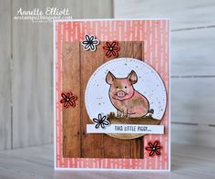 AEstamps a Latte...: This Little Piggy for Sunday Stamps! #152