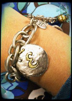 Vintage Coin Bracelet - $44.00  https://kellydavis.jewelkade.com/Shop