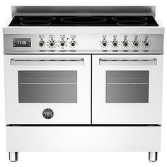 Buy Bertazzoni Professional Series 100cm Electric Induction Range Cooker Online at johnlewis.com