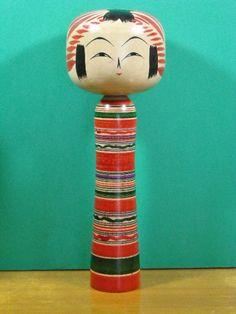 Onuma Shoji 大沼昇治 (1932-1998), Master Sato Jiro, Sato Fumio, 24 cm Kokeshi Dolls, Craftsman, Artisan, Japanese, Traditional, Vintage, Design, Japanese Language
