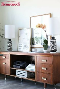 Light up your at home office with all the workspace essentials that enable you to create your best work yet!  From lighting, to chairs, to rugs, to all of the organizational desk trinkets in between – HomeGoods is your one stop shop for everything workspace.   Shop home office, in stores now!