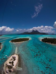 Tahiti and Bora Bora   #desktopwallpapers4you.com