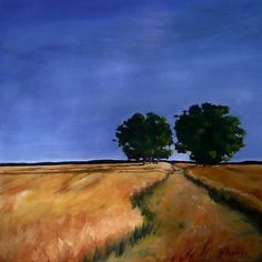 Title  Sentinels   Artist  Jo Appleby   Medium  Painting - Oil