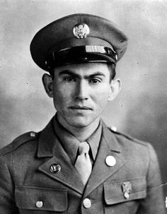Pvt. Pedro Cano Cano will receive the Medal of Honor posthumously for his courageous actions while serving with Company C, 8th Infantry Regiment, 4th Infantry Division during combat operations against an armed enemy in Schevenhutte, Germany on Dec. 3, 1944. Courtesy of U.S. Army