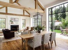 Modern Mill Valley Farmhouse-Ken Linsteadt Architects-18-1 Kindesign #modernhomewindows