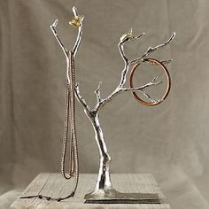 Cast Metal Jewelry Tree - Extra Large | West Elm