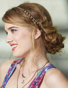Easy summer hairstyle :: one1lady.com :: #hair #hairs #hairstyle #hairstyles