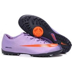 http://www.asneakers4u.com 2011 Wholesale Nike Mercurial Vapor Superfly II Victory TF In Purple orange black   mens shoesout of stock