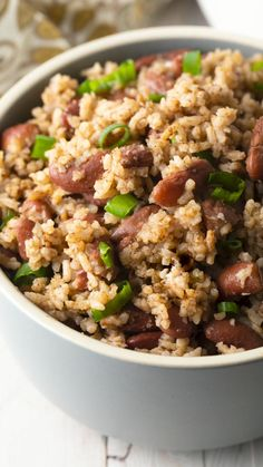 Jamaican Peas And Rice Recipe, Jamaican Rice And Beans, Rice And Beans Recipe, Jamaican Recipes, Good Healthy Recipes, Healthy Foods, Rice Recipes, Cooking Recipes, Rice And Peas