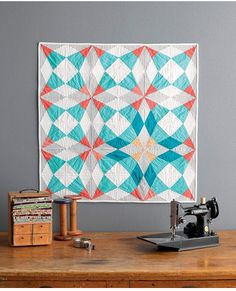 Quilt from Vintage Quilt Revival