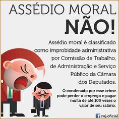 Crises de estresses e ansiedade, consequências do assédio moral para com o servidor #CRISEnaPF http://www2.camara.leg.br/camaranoticias/noticias/ADMINISTRACAO-PUBLICA/496187-TRABALHO-APROVA-CLASSIFICACAO-DE-ASSEDIO-MORAL-COMO-IMPROBIDADE-ADMINISTRATIVA.html…