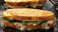 This is no typical turkey sandwich. Toss this monte cristo sandwich on the grill for a delicious twist on a classic favorite.