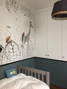 wallpaper Metrozoo Kids Bedroom Designs, Boys Bedroom Decor, Kids Room Design, Baby Nursery Decor, Baby Bedroom, Kids Room Wallpaper, Kids Wall Decor, Toddler Rooms, Kids House