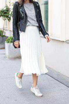 3033efe23bde biele tenisky botasky white sneakers casual fashion móda štýl style street  outfit oblečenie clothes dámska móda