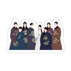 Pop Stickers, Anime Stickers, Printable Stickers, Kpop Fanart, Moon Lovers Drama, Teen Wallpaper, Body Drawing Tutorial, Dramas, Korean Stickers