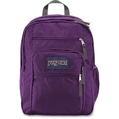 Jansport Big Student Backpack Vivid Purple