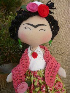 Tilda By Feitos Perfeitos: Boneca Frida Kahlo