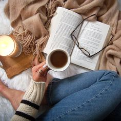 Nothing beats the winter blues than getting cozy with a good book with a warm cup of coffee.