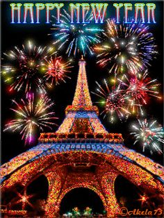 Happy New Year! Thank you so much dear Teresa. Happy New Year Animation, Happy New Year Gif, Happy New Year Images, Happy New Year Greetings, New Year Wishes, Merry Christmas And Happy New Year, An Nou Fericit, Holiday Gif, New Year Pictures