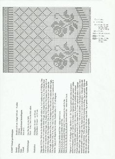 Filet Crochet, Crochet Lace, Crochet Roses, Crochet Curtains, Crochet Patterns, Knitting, Crochet Edgings, Crochet Table Runner, Cross Stitch Embroidery