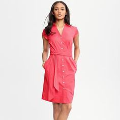15 Spring Dresses Perfect for Work - The Shirt Dress