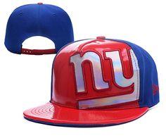 NFL New York Giants New Era Draft on Stage Adjustable Hat Cap