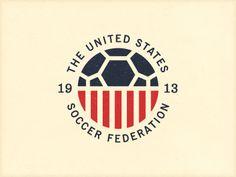 United state soccer federation #usa #soccer Devi creare un logo? Best logo design here http://davidemancinelli.it/portfolio/creare-un-logo-azienda/
