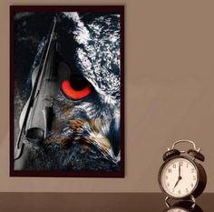 Owl Musikplakat - Logo kaufen, Geschenkidee, Webbanner, Wandplakat, Grafik design, Vektorgrafik, Flyer, Portrait nach Foto Web Banner, Flyer, Grafik Design, Portrait, Poster, Painting, Art, Pictures, Great Gifts