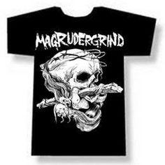 Magrudergrind Black Shirt Grindcore Crust Punk | eBay XL